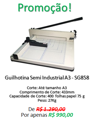Mini-Banner-Guilhotina SG 858