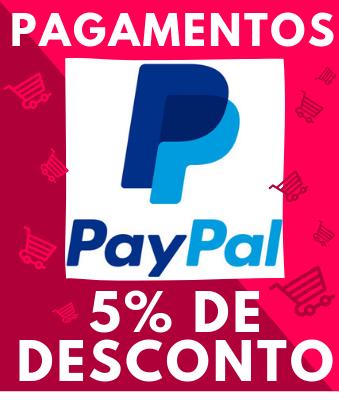 Banner Desconto em compras no Paypal