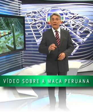 GLOBO E A MACA PERUANA