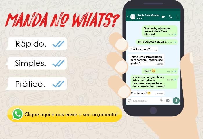 Orçamento pelo WhatsApp - Mobile