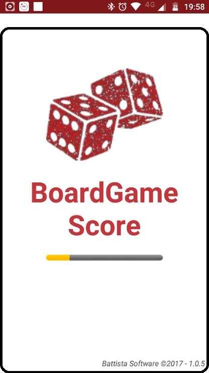 BOARD GAME SCORE