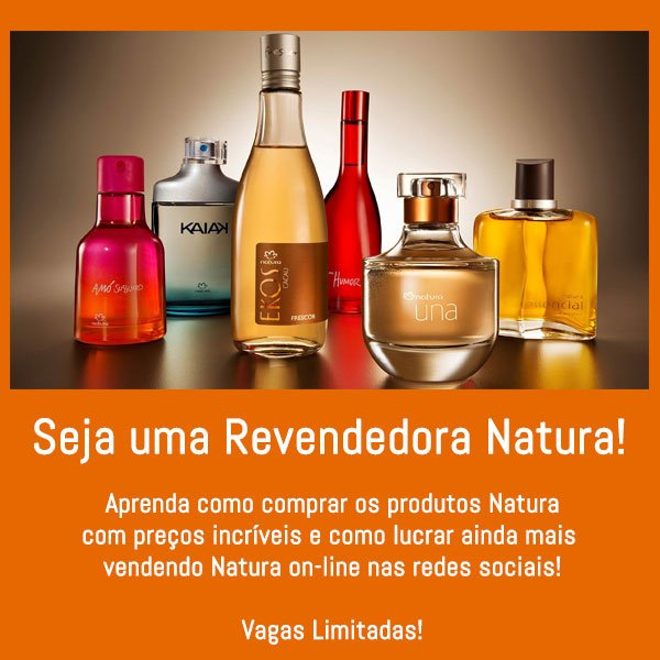 Banner Revendedora Natura
