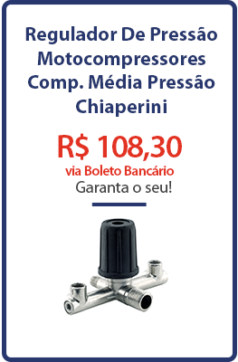 Regulador De Pressão - Motocompressores - Compressores Média Pressão - Chiaperini