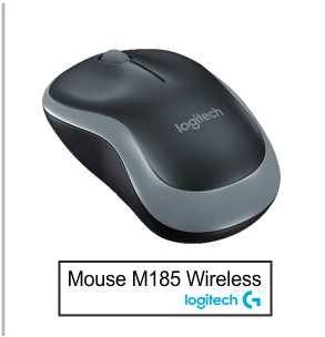 Mouse Logitech M185 Wireless 2