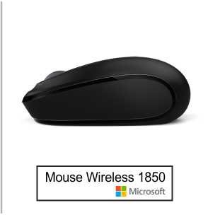Mouse Microsoft Wireless 1850 3