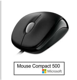 Mouse Microsoft Compact 500 2