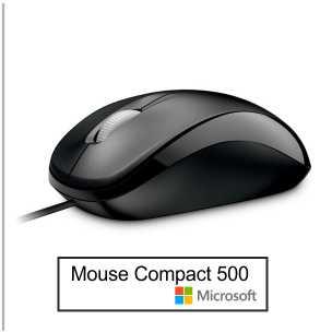 Mouse Microsoft Compact 500 1