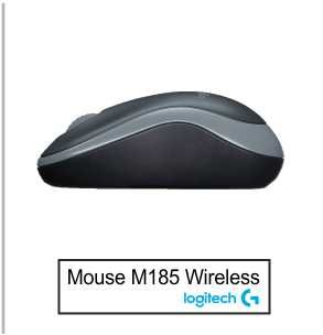 Mouse Logitech M185 Wireless 3