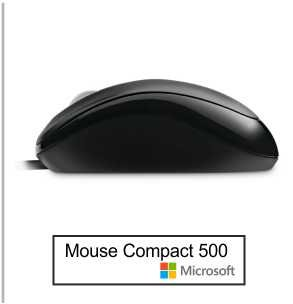 Mouse Microsoft Compact 500 3