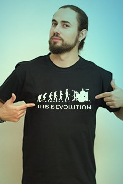 Banner This Is Evolution
