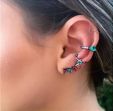 ear cuff triangulo