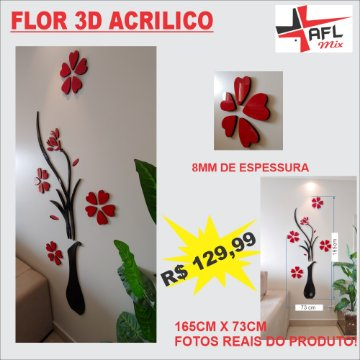 Banner lateral flor