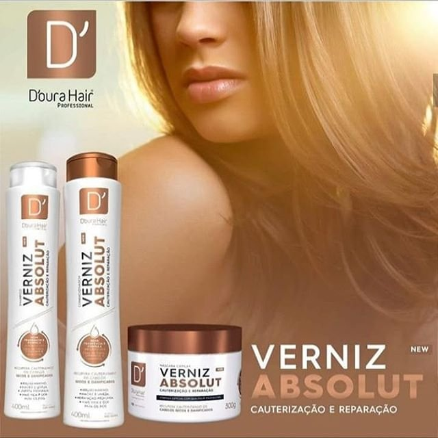kit Verniz Absoluto - D'oura hair