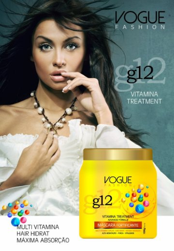 Máscara Fortificante G12 1kg - Vogue Fashion