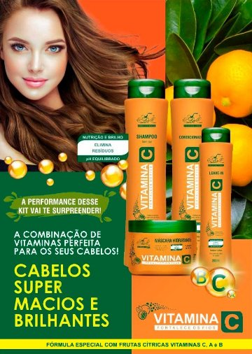 Kit Completo Vitamina C Belkit
