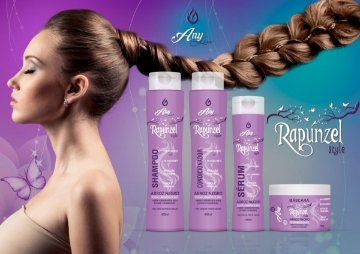 Kit Completo Rapunzel -- Any Liss