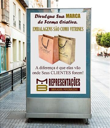 SACOLA DE PAPEL D.A.D