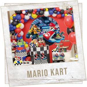 Festa Mario Kart Meninos