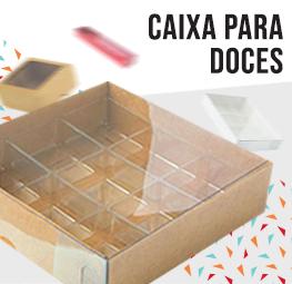 caixa para doce