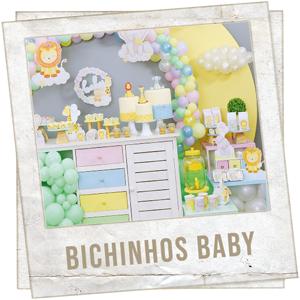 Festa Leaozinho Bichinhos Baby