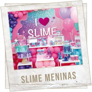 Festa Slime Meninas