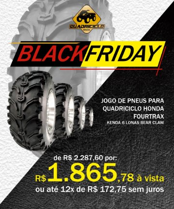 black friday- pneu
