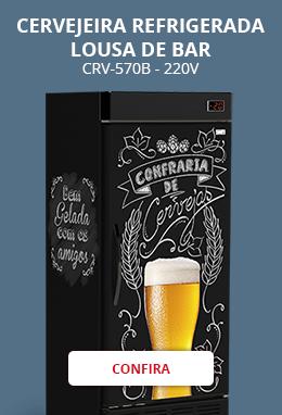 Cervejeira Refrigerada Lousa De Bar Crv-570b - 220v