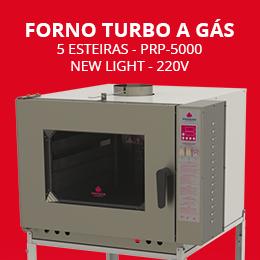 Forno Turbo a Gás 5 Esteiras