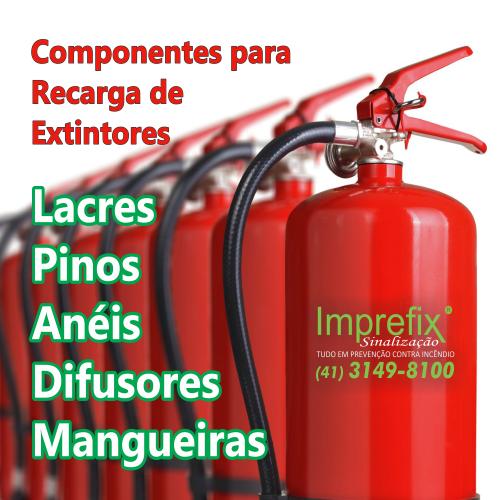 Componentes para recarga de extintores