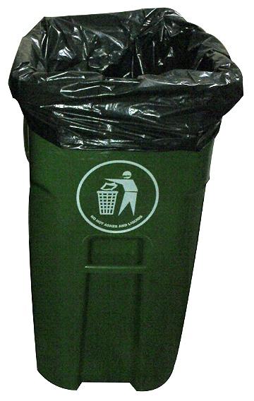 Sacos p/Lixo 200 litros BL - 1,17x1,25x0,10 - 35 unidades