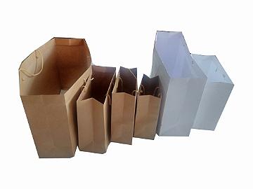 Sacolas de papel kraft