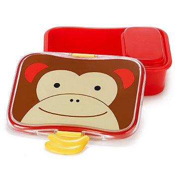 Kit Lanche Skip Hop - Linha Zoo -  Coleção Macaco