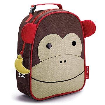 Lancheira Infantil Skip Hop - Linha Zoo - Coleção Macaco
