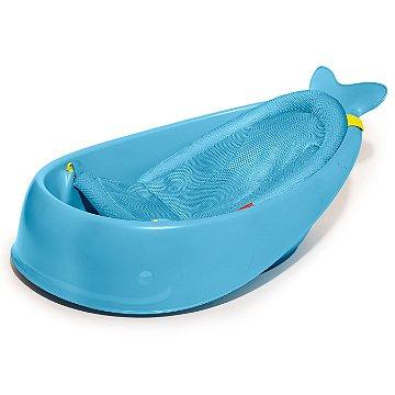 Moby Banheira Skip Hop - A banheira que cresce com o seu bebê - Cor Azul