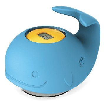 Moby Termometro Skip Hop - Controlando a temperatura do banho do seu bebê