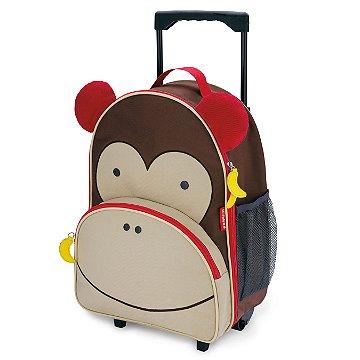 Mochila de Rodinhas Skip Hop - Linha Zoo - Coleção Macaco