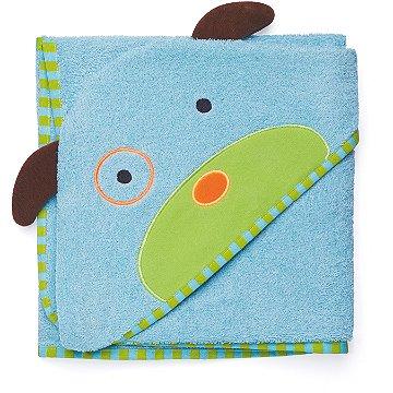 Toalha de banho Infantil Skip Hop - Linha Zoo - Coleção Cachorro