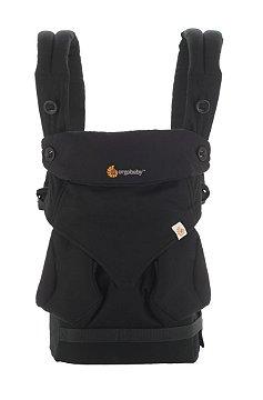 Canguru Ergobaby - Modelo 360 - 4 posições de uso - cor Pure Black