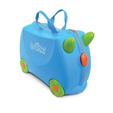 Mala Infantil Trunki - Terrance - Sua viagem muito mais divertida - cor Azul