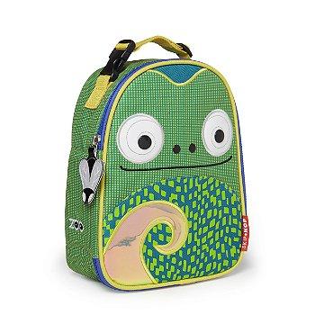 Lancheira Infantil Skip Hop - Linha Zoo - Coleção Camaleão