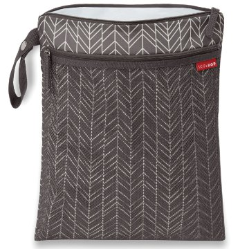 Bolsa Wet and Dry - Linha On-The-Go - Cor Grey Feather
