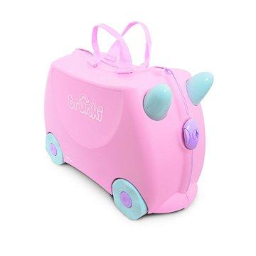Mala Infantil Trunki - Rosie - Sua viagem muito mais divertida - cor Rosa