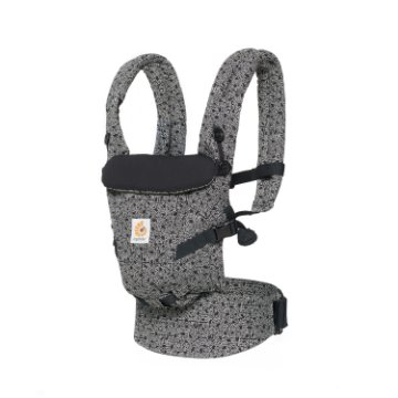 Canguru Ergobaby - Modelo Adapt - Acompanha seu bebê desde o nascimento - Edição Especial Keith Haring Black