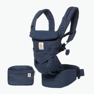 Canguru Ergobaby - Modelo Omni 360 - All-in-One - Cor Midnight Blue