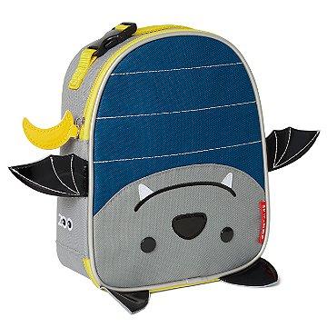 Lancheira Infantil Skip Hop - Linha Zoo - Coleção Morcego