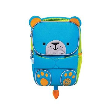 Mochila Infantil Toddlepak Trunki - Urso Bert - cor Azul
