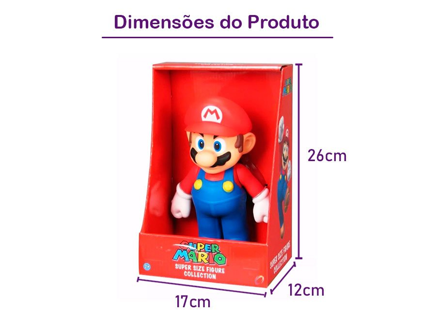 Action Figure Super Mario Grande