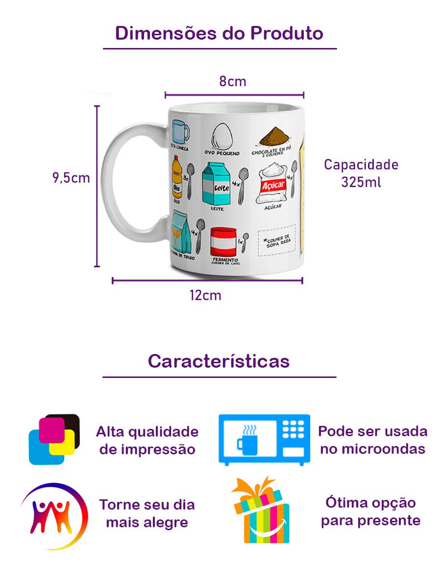 Caneca Bolo de Canexa