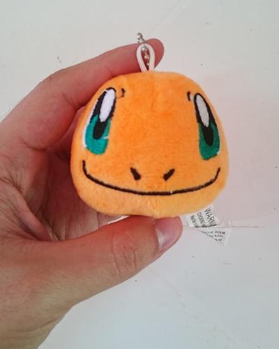 Chaveiro Pelúcia Pokémon Charmander