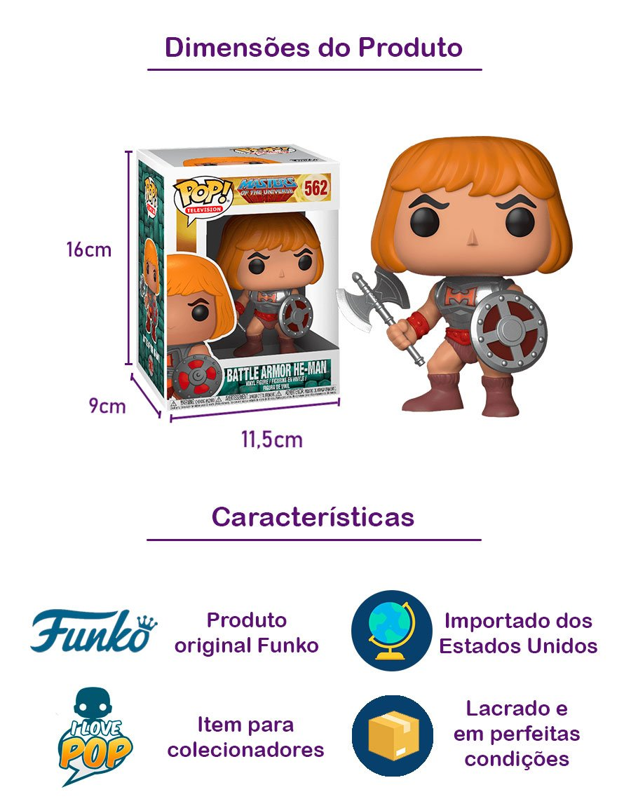 Funko POP Battle Armor He-Man